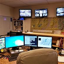 Dispatch Office Interior
